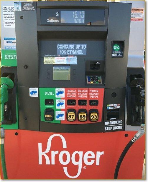Kroger Fuel Station