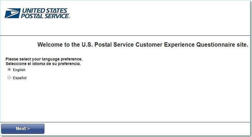 Www.Postalexperience.Com/Pos Survey Homepage